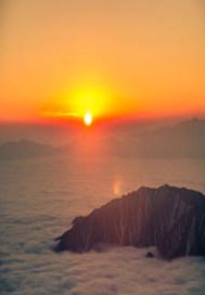陽光升起的時候