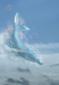 遇上骤雨的飞鱼