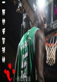 一颗热爱篮球的心