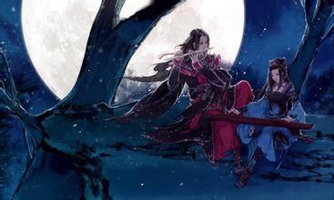 江山错落之明月清风