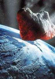 行星犀牛正向地球撞来